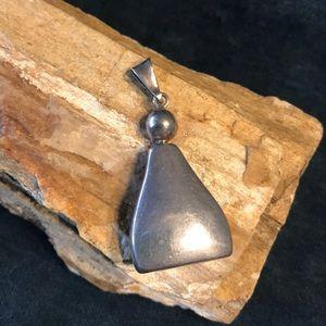 Jewelry - Vintage Sterling Silver Bottle Pendant